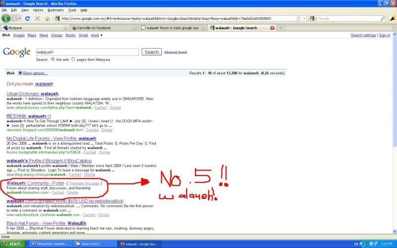 Ranking Google Up! Walaueh