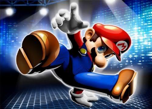 لعبة Super Mario 2007 3D Wallpaper_dance_dance_revolution_ma