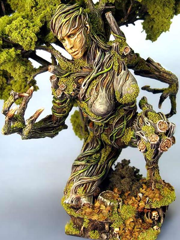 Figurine Homme Arbre alternative Treeclaw1