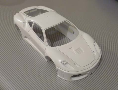 FERRARI F430 GT KROHN RACING Primerblanco1