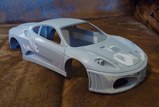 FERRARI F430 GT KROHN RACING Primerguia
