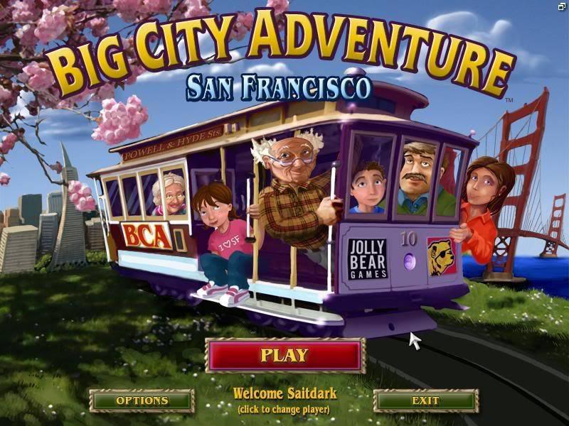 Big City Adventure - San Francisco Bigcity