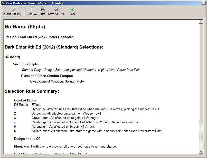 Dark Eldar 6th Ed Battlescribe Catalogue - Page 2 Succubierror
