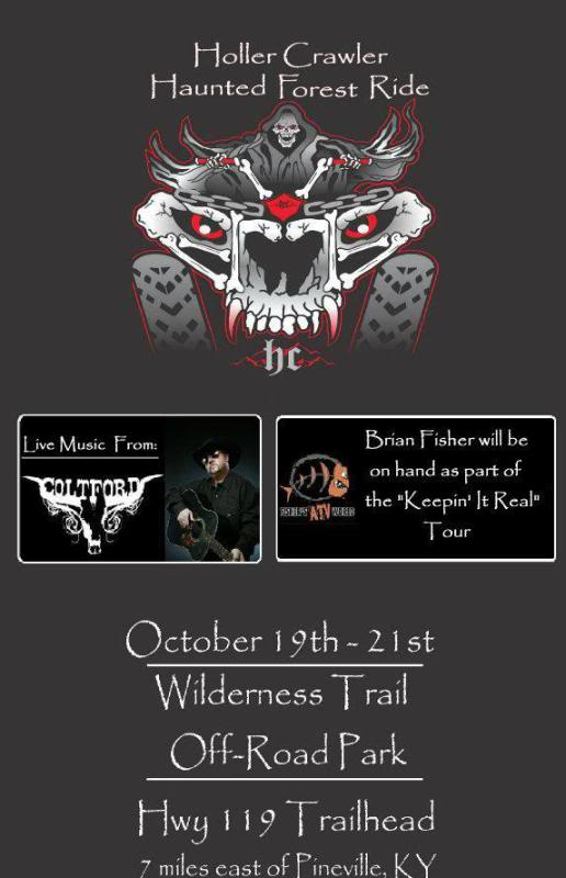 Haunted Forest Ride Oct 19-21 in Bell County, KY HF2012RackCardFrontwithColtandFisherSMALLER