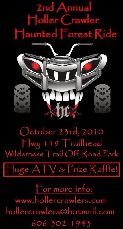 Haunted Forest Ride - Oct 23 - Bell County KY HauntedForestForumImage