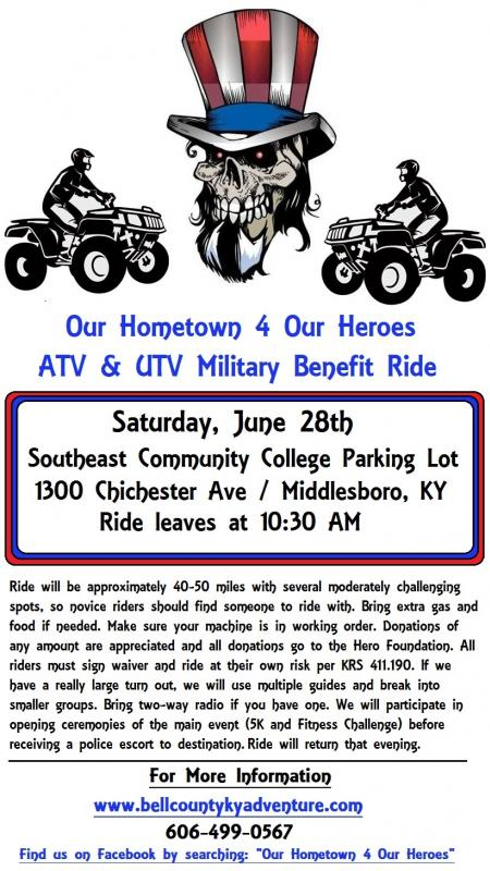Off Park Benefit Ride for Wounded Warrior Project - June 28th in Middlesboro Hometown4OurHeroesATVFlier_zpse30bfc69
