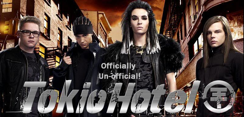Tokio Hotel- OFFICIALLY UNOFFICIAL!!