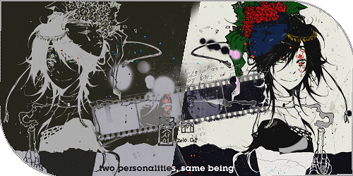 Lagrimas caer...[Tsubasa reservoi chronicles]  Two-personalities-same-being