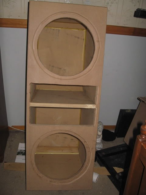 """Double 15"""" TF One enclosure build IMG_1432"""