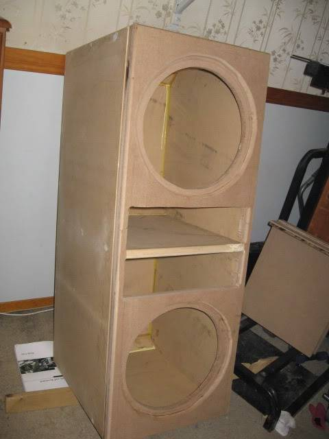 """Double 15"""" TF One enclosure build IMG_1434"""
