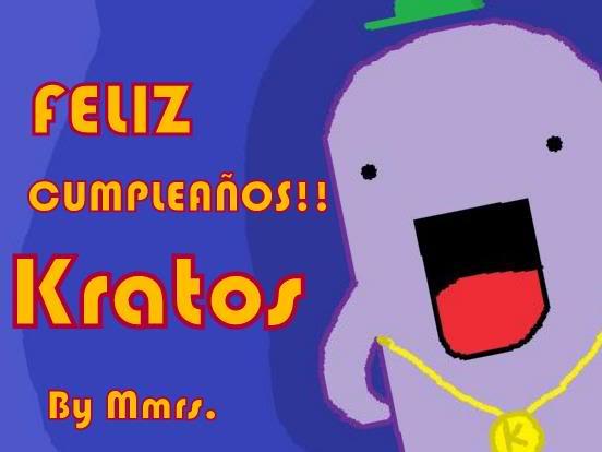 Kratos Birthday! Sdfsa