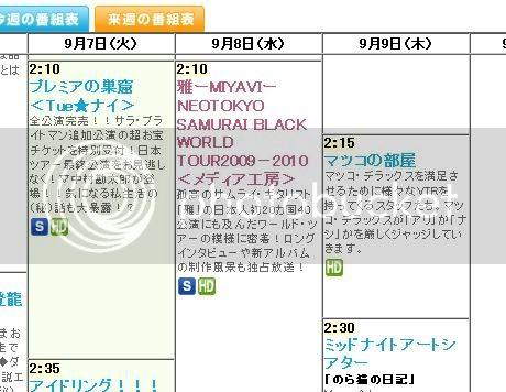 Especial de MIYAVI por Fuji TV el día 09.09  Myvfuji