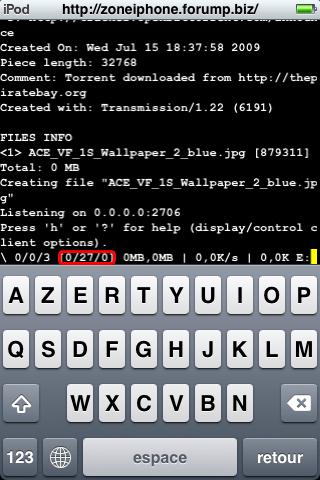Télécharger Torrent directement depuis iPhone / Itouch 11-1
