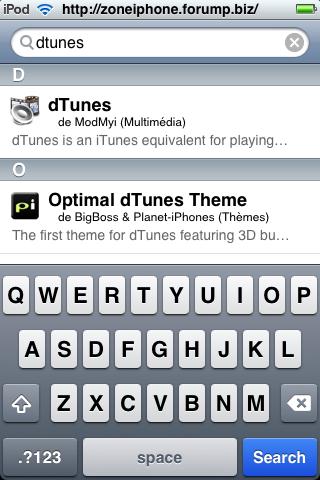 Télécharger Torrent directement depuis iPhone / Itouch 3