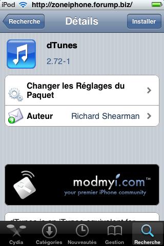 Télécharger Torrent directement depuis iPhone / Itouch 4