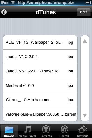 Télécharger Torrent directement depuis iPhone / Itouch 9bis