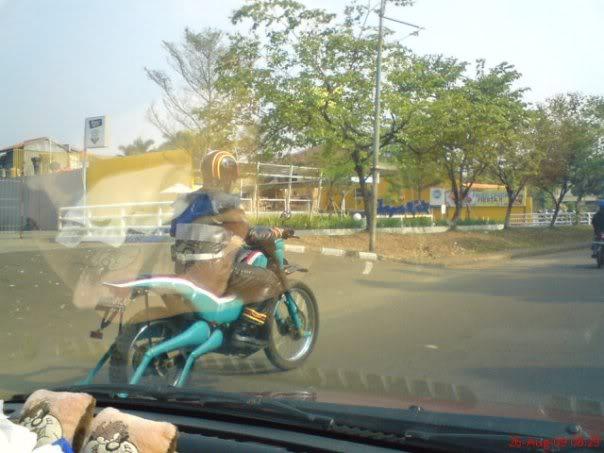 Satria Baja Hitam ada di Indonesia 155tbaw