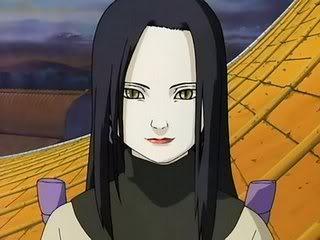Cite 5 personagens femininas favoritas de mangás?  Orochimaru-Woman