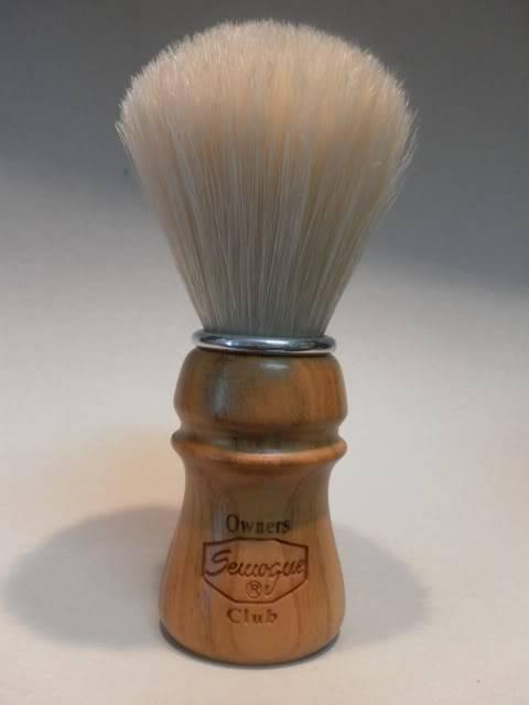 The new SOC boar brush in cherry wood NewSOCCherry