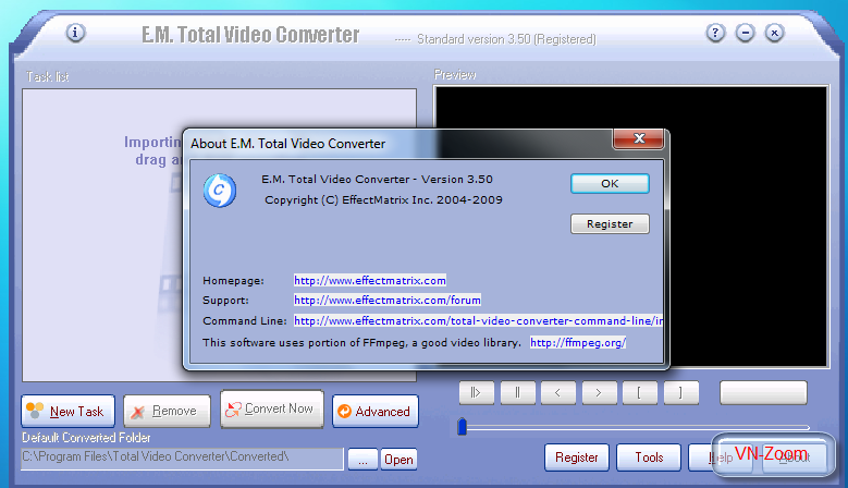 E.M. Total Video Converter 3.50 7-28-20092-06-11PM