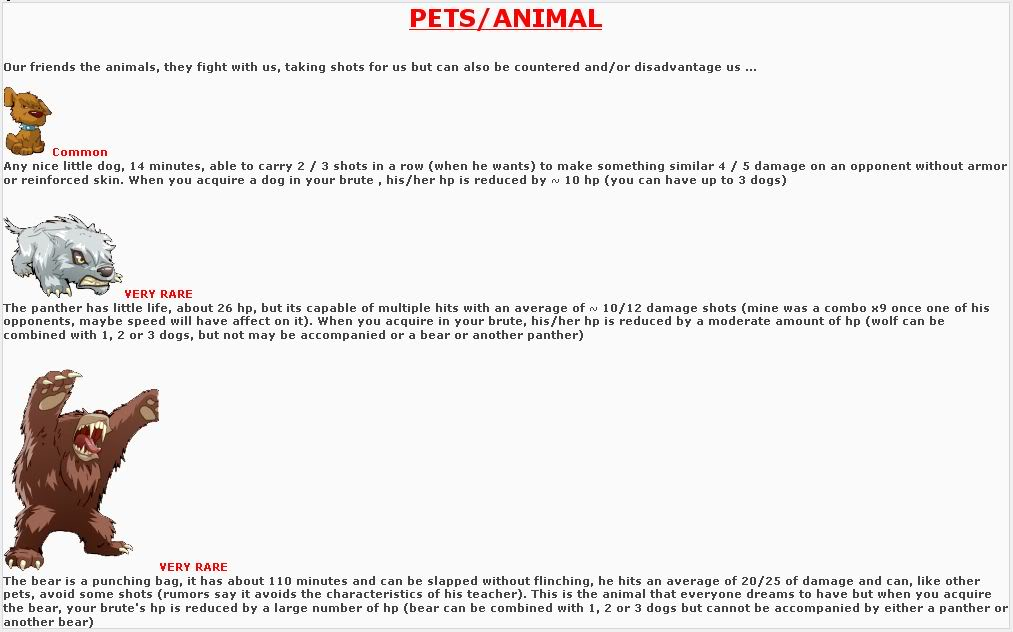 Essential: Picture Guide to Pets and Specialities/Skills ScreenshotStudiocapture2
