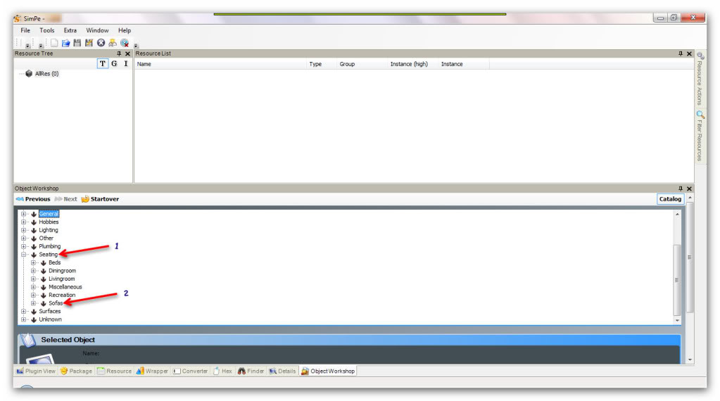 Basic Furniture Recolouring Using SimPE & Gimp Snap_20111031_16h31m52s_009_SimPe-