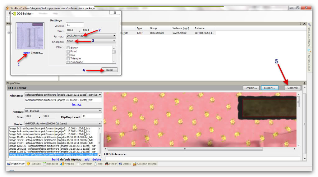 Basic Furniture Recolouring Using SimPE & Gimp Snap_20111031_17h14m56s_022_SimPe-C--Users-Angela-Desktop-sofarecolour-sofa-recolour-package-1