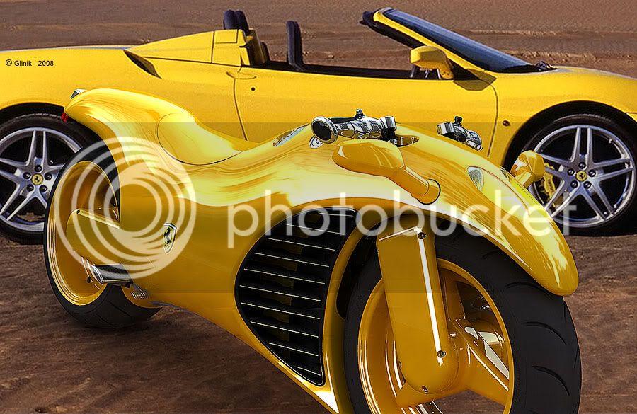 Ferarri motorcycle Image010