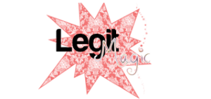 legitmagic - lens, fashion, whateverly Logopink