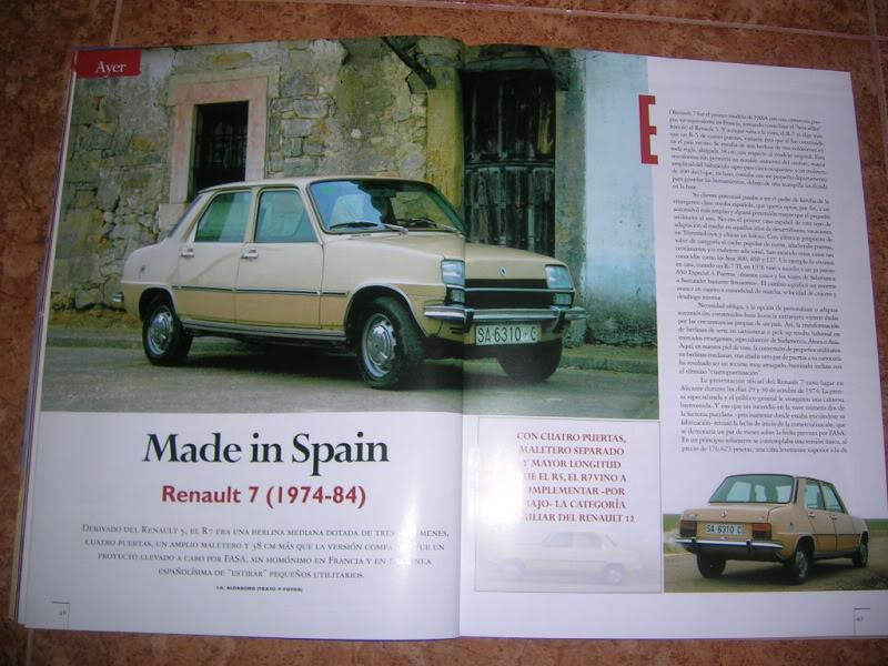 Revistas que salen Renault Siete y 7. DSCN2406