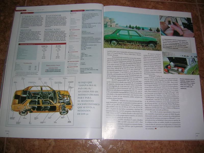 Revistas que salen Renault Siete y 7. DSCN2407