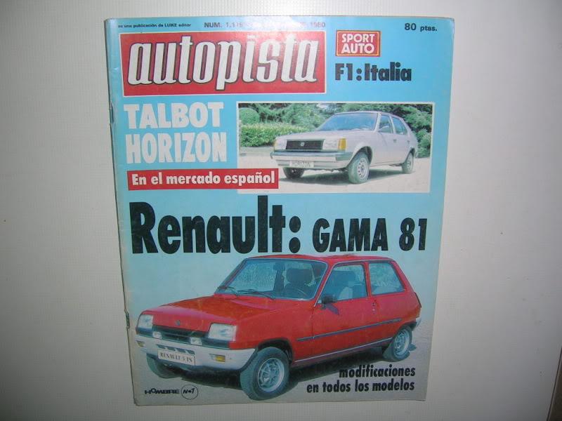Revistas que salen Renault Siete y 7. DSCN2759