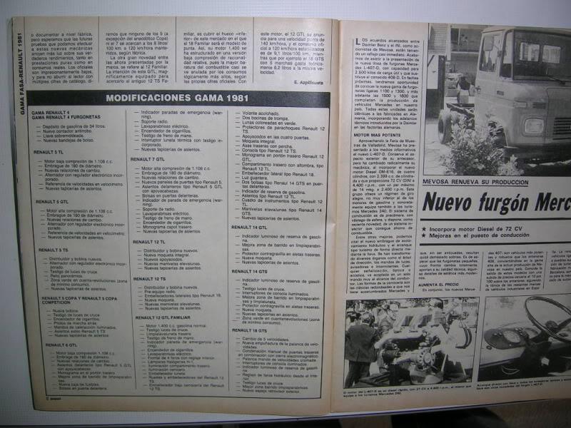 Revistas que salen Renault Siete y 7. DSCN2761