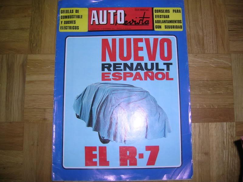 Revistas que salen Renault Siete y 7. DSCN3338