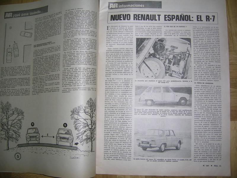 Revistas que salen Renault Siete y 7. DSCN3340