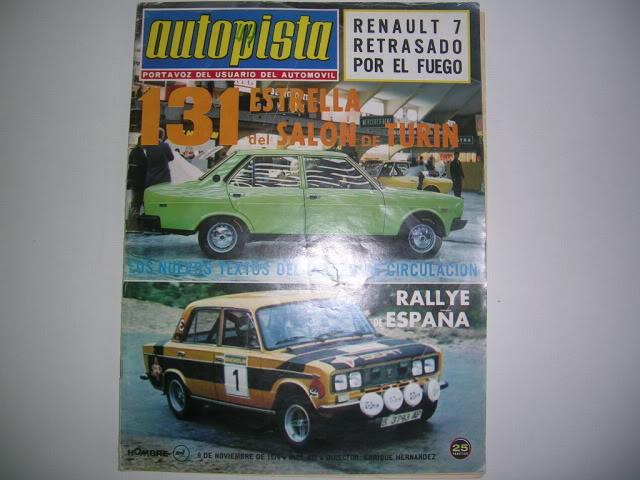 Revistas que salen Renault Siete y 7. DSCN3633