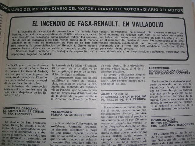 Revistas que salen Renault Siete y 7. DSCN3634
