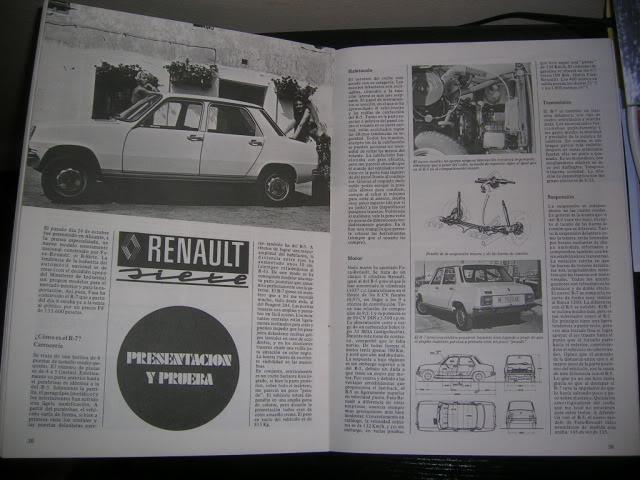 Revistas que salen Renault Siete y 7. DSCN3862-1