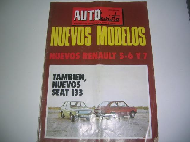 Revistas que salen Renault Siete y 7. DSCN5990