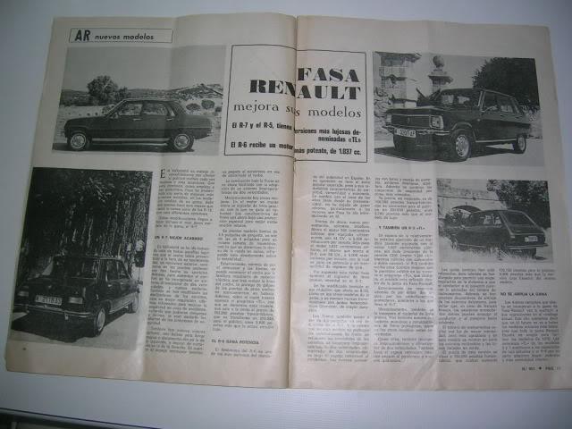Revistas que salen Renault Siete y 7. DSCN5991