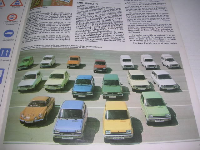 Revistas que salen Renault Siete y 7. DSCN6293