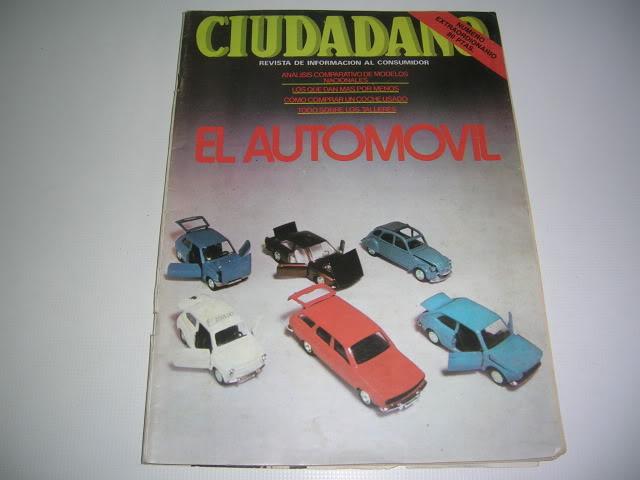 Revistas que salen Renault Siete y 7. DSCN6865