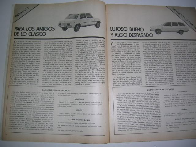 Revistas que salen Renault Siete y 7. DSCN6866
