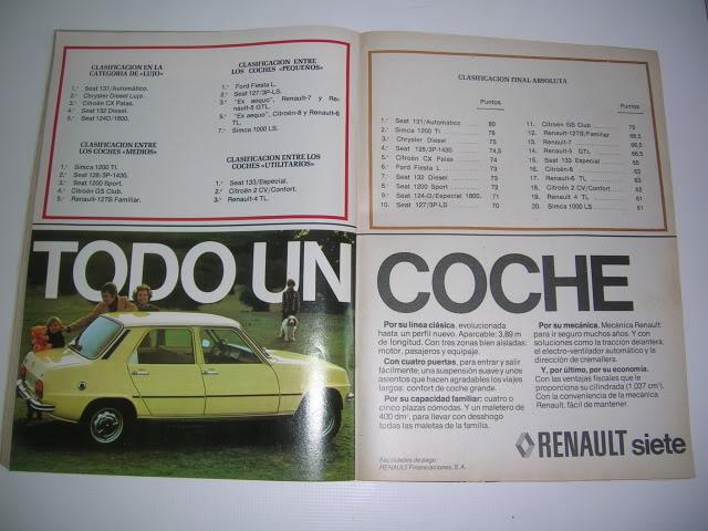 Revistas que salen Renault Siete y 7. DSCN6867