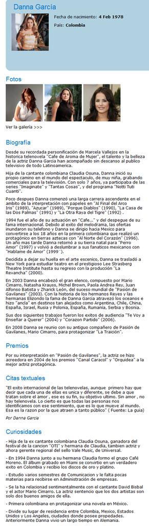 Biografia Oficial de DANNA GARCIA por Tigermac 06-03-200913-00-34