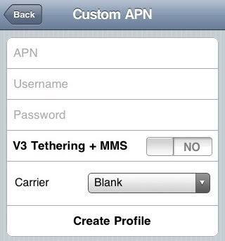 Could Not Activate Cellular Data Network [solution] Customapn