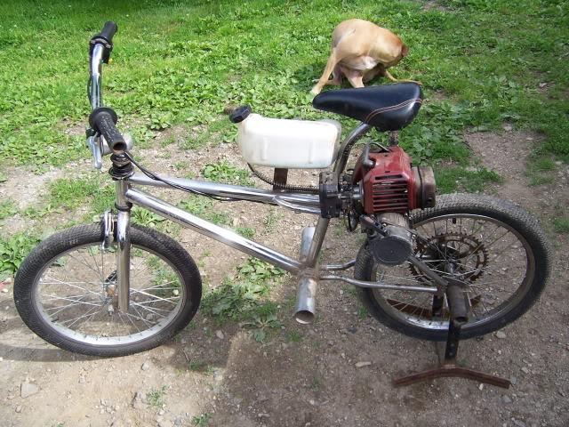Mini 2-stroke go-cart build 100_2923