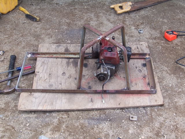 Mini 2-stroke go-cart build 100_2924