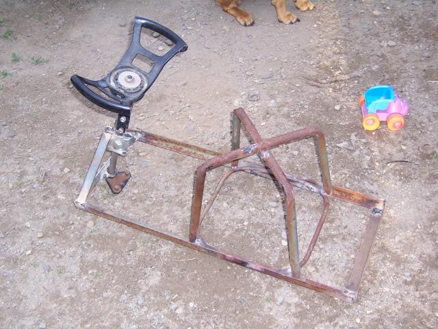 Mini 2-stroke go-cart build 100_2933