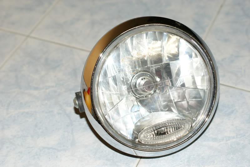 headlamp fz150i original rm150 DSC03288
